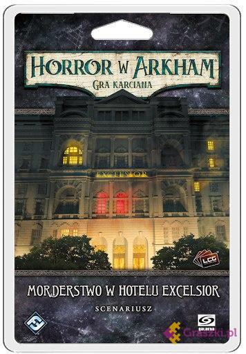 Horror w Arkham LCG: Morderstwo w Hotelu Excelsior // darmowa dostawa od 249.99 zł // wysyłka do 24 godzin! // odbiór osobisty w Opolu